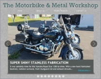 Motorbike & Metal Workshop website 2018
